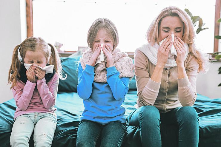 prehlada grip