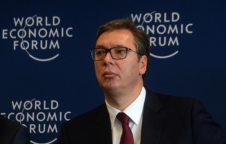 Aleksandar Vučić, Ženeva, Svetski ekonomski forum, dijalog o Zapadnom Balkanu