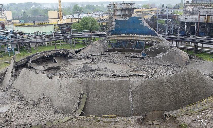 Wielkie sprzątanie po eksplozjach na terenie elektrowni