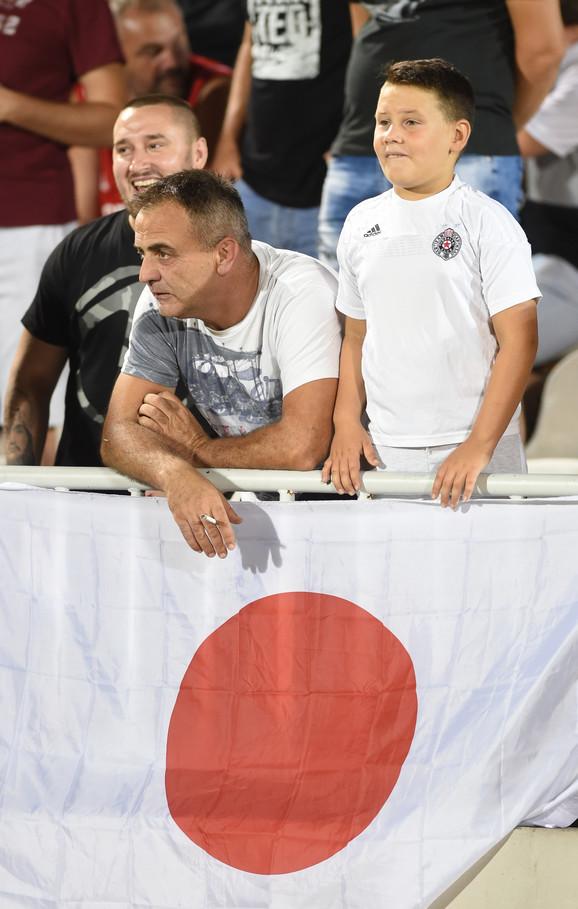 Zastava za Takuma Asana