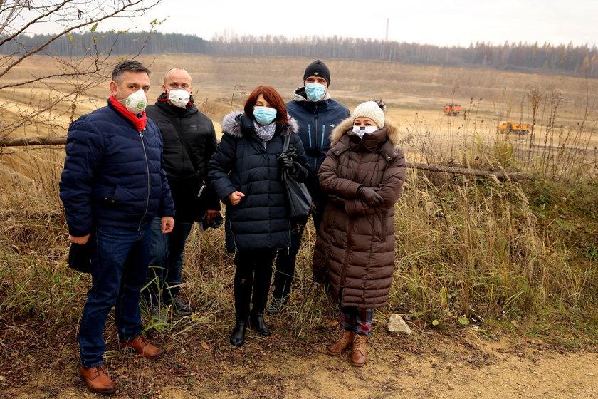 Dąbrowa Górnicza. Mieszkańcy Ząbkowic protestują przeciwko kopalni dolomitu