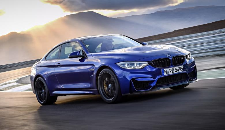 BMW M4 CS – trafiona w sedno