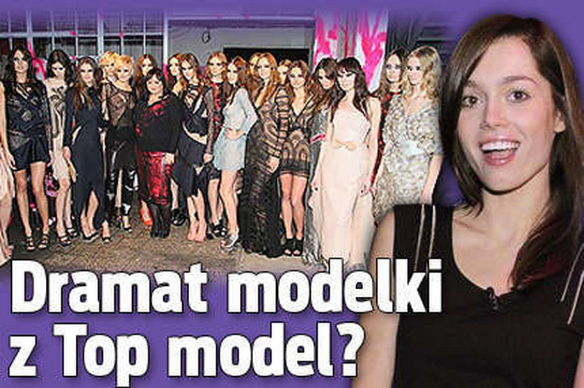 Dramat modelki z Top model? Piszczałka na wybiegu, Papierska jako gość!