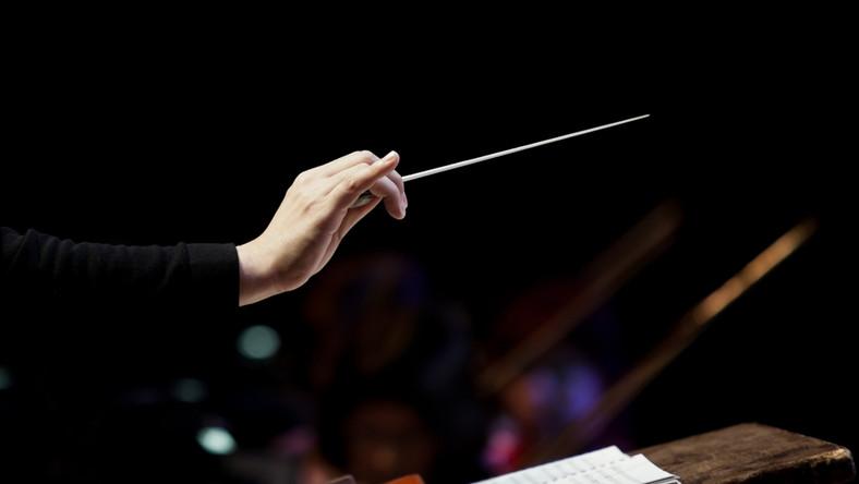 dyrygent, muzyka, filharmonia