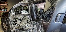 Prezydent nie spowodował wypadku! To kto rozbił to auto?!