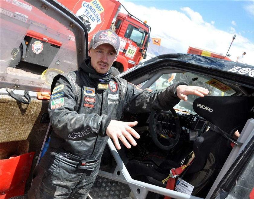 Adam Małysz opowiada Faktowi o wypadku w którym jego auto dachowało