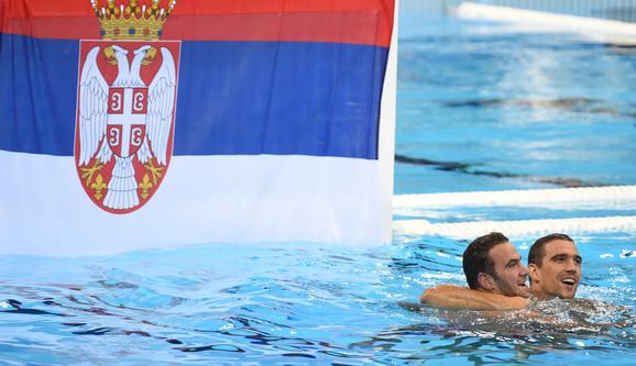 Vaterpolo reprezentacija Srbije slavi titulu u Riju