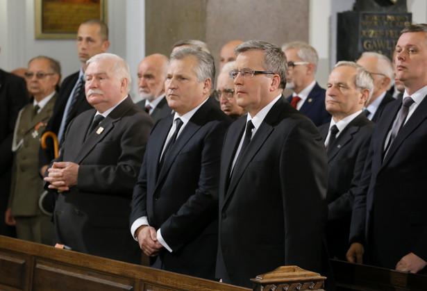 We mszy świętej za gen. Jaruzelskiego bierze udział trzech prezydentów PAP/Paweł Supernak