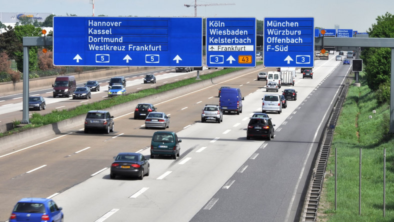 Niemiecka autostrada
