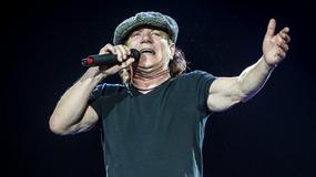 Wokalista AC/DC miał wypadek