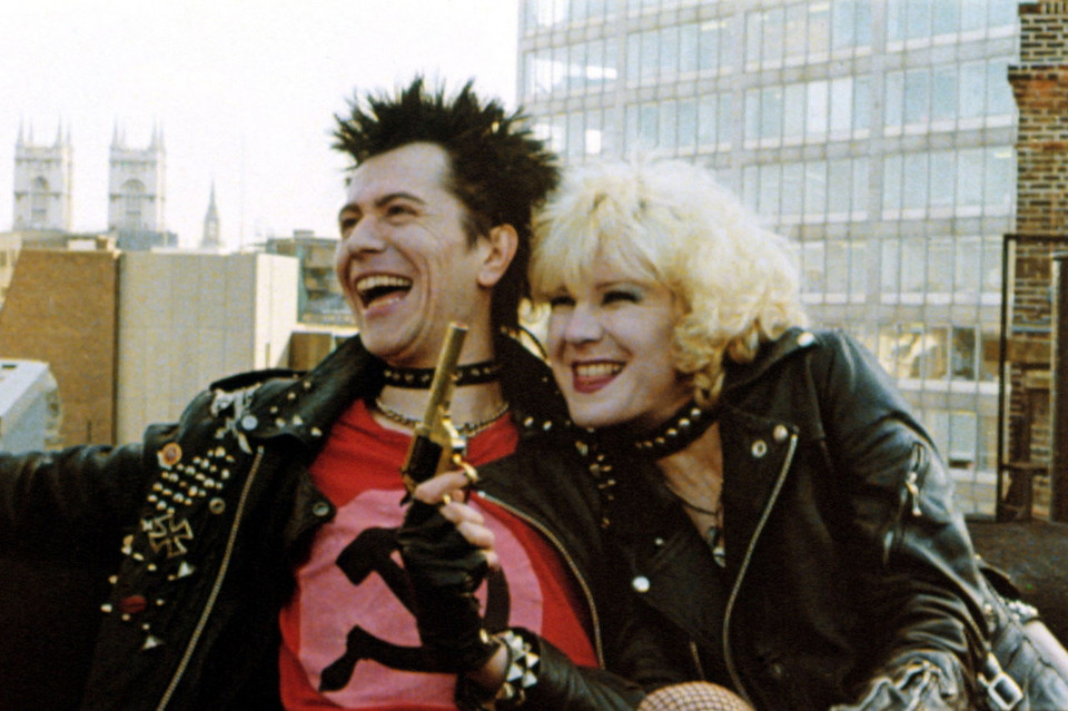 """Sid i Nancy"", reż. Alex Cox, 1986 r."