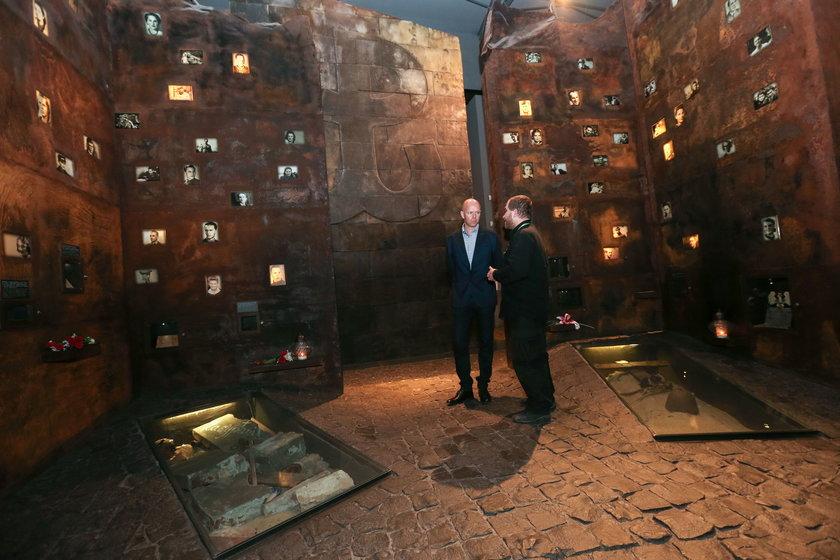 Berg odwiedził Muzeum Powstania Warszawskiego
