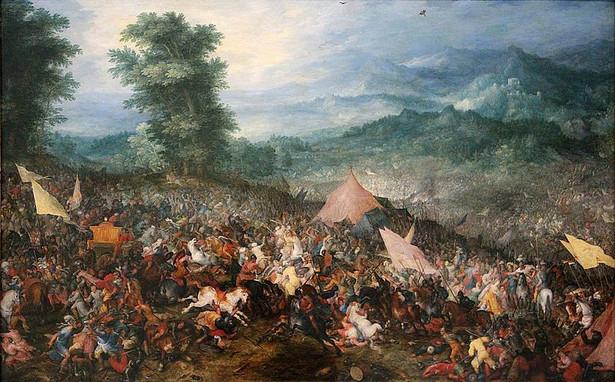 """Bitwa pod Gaugamelą"" Jana Brueghla"