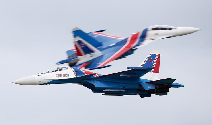 suhoj su-30sm rusija vojni avioni