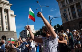 Bułgaria: Antyrządowa demonstracja w Sofii, starcia z policją