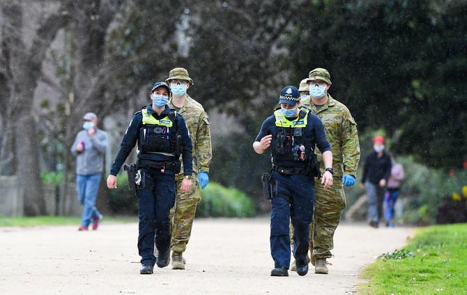 Policija i vojska su na svakom koraku