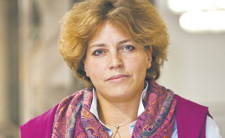 Joanna Tyrowicz profesor nauk ekonomicznych, badaczka rynku pracy, pracuje na Wydziale Zarządzania Uniwersytetu Warszawskiego, współtworzy ośrodek badawczy GRAPE  fot. Wojtek Górski