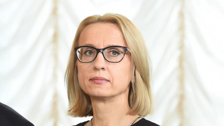 Zaprzysiężona na Ministra Finansów Teresa Czerwińska