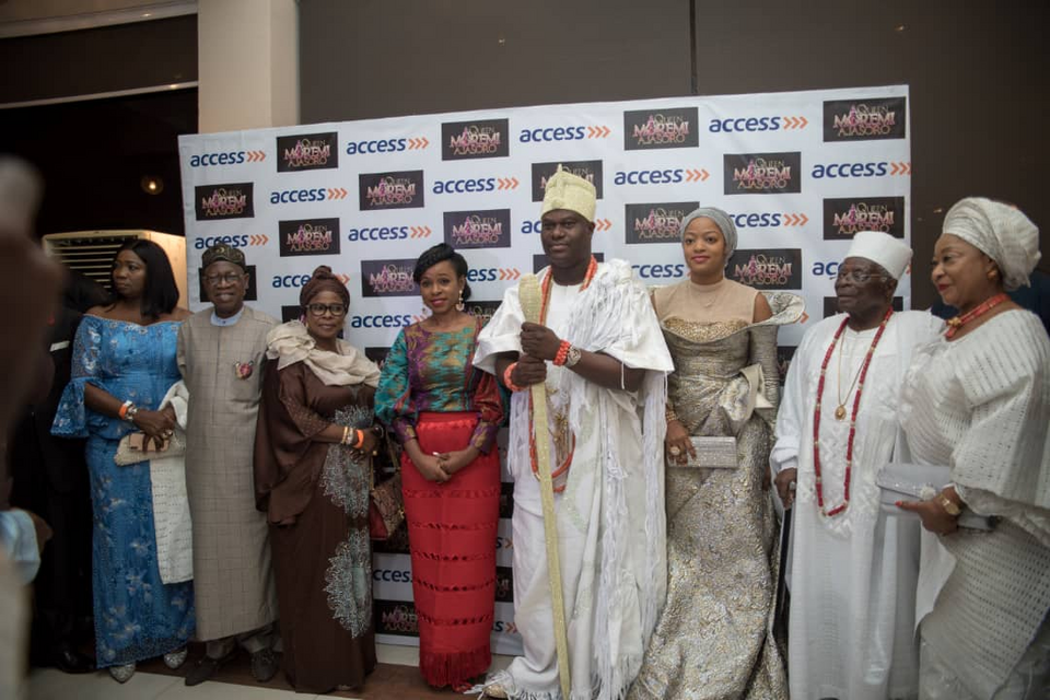 Ooni of ife at the musical