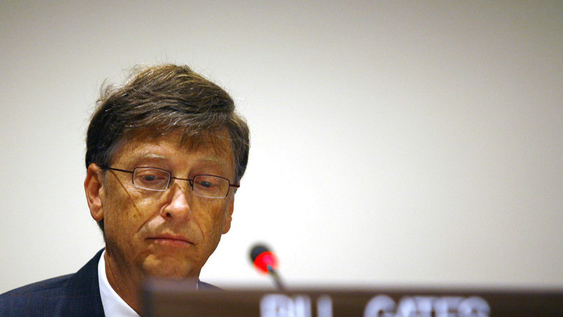 Kryzys zniszczył marzenia Billa Gatesa