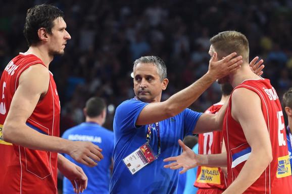 """OGLASIO SE I KOKOŠKOV! Evo šta je novi selektor košarkaške reprezentacije Srbije poručio čim je PREUZEO """"ORLOVE"""""""