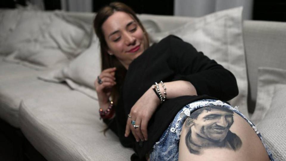 Carla Miranda Seksowna Fanka Leo Messiego Spotkali Się W