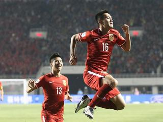 Soccer 2016 - World Cup Qualifier - China 2:1 Qatar