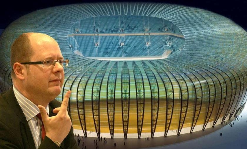 Prezydent wyciąga od nas kasę na stadion w Gdańsku