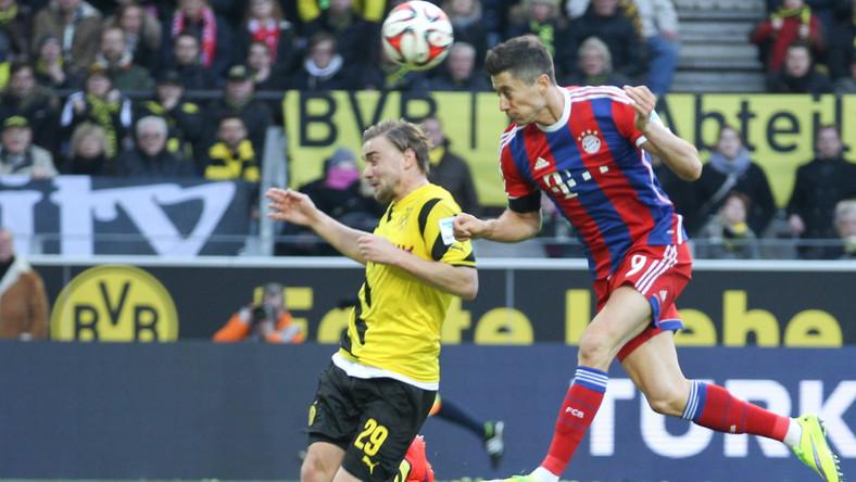 """Lewandowski z """"notą marzeń"""" po meczu z Borussią Dortmund"""