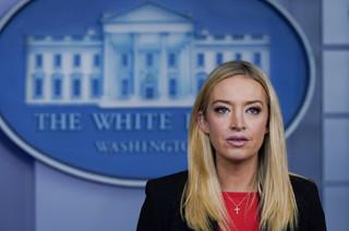 Rzeczniczka Białego Domu: Donald Trump potępia przemoc 'najmocniej jak się da'