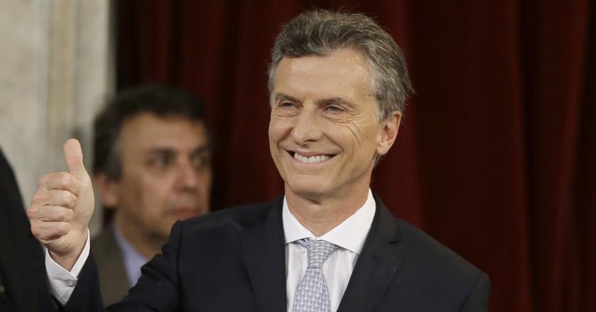Mauricio Macri, prezydent Argentyny