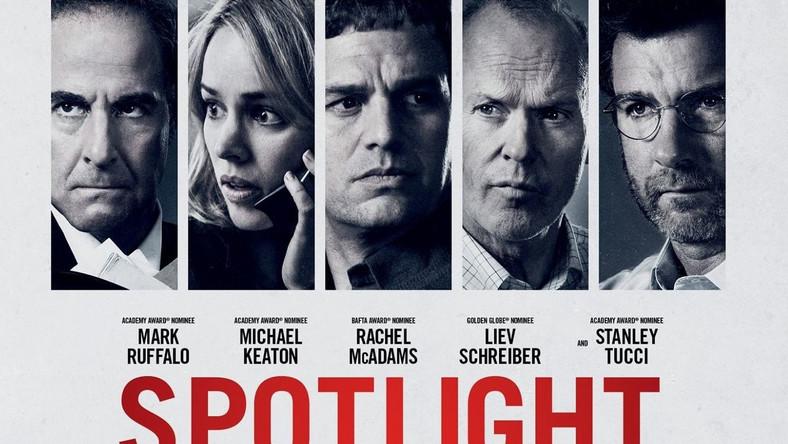 """""""Spotlight"""" jest wierną rekonstrukcją przeprowadzonego w 2001 roku śledztwa dziennikarzy """"The Boston Globe"""". Na zlecenie nowego redaktora Marty'ego Barona (Liev Schreiber) grupa śledcza Spotlight bada historię księdza-pedofila, który mimo ujawnionych zarzutów wciąż pełnił posługę."""