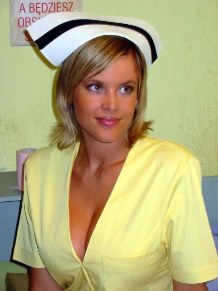 Magdalena Mazur - najpiękniejsza według Was ekranowa pielęgniarka