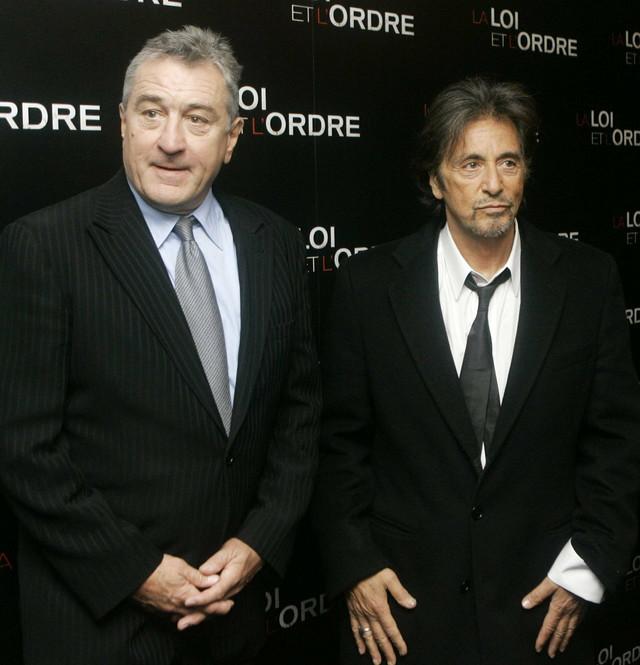 Robert De Niro i Al Paćino