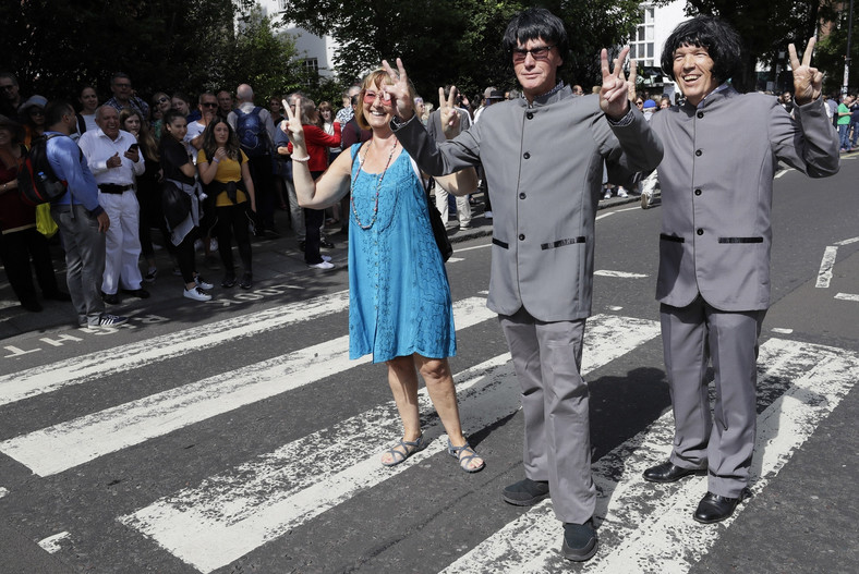 "50. rocznica wydania ""Abbey Road"" The Beatles"