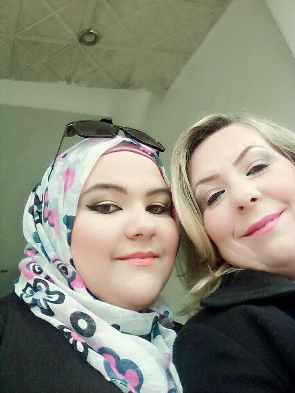 Pani Maria Faouri z córką Darią