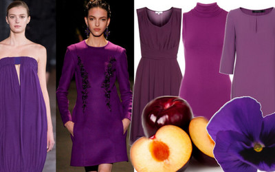 Krolowa Jesieni Fioletowa Sukienka Sprawdz Z Czym Ja Laczyc