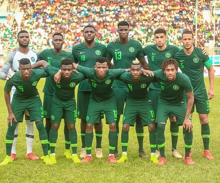 Rohr sticks with his regulars with only six players from the 2018 World Cup squad missing (Instagram/William Troost-Ekong)