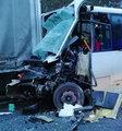 Zderzenie autobusu i ciężarówek. Dramatyczny wypadek pod Wyszkowem