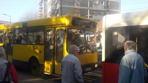 Autobus koji je zbunio putnike