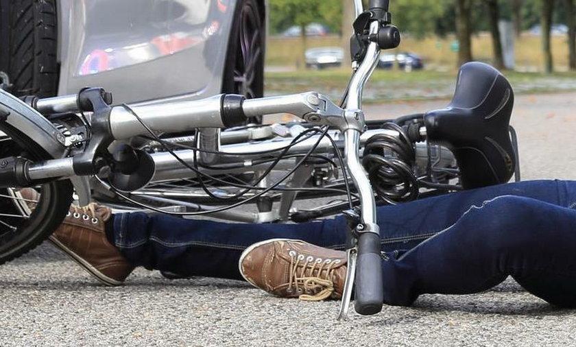 Tragedia na drodze. Bosak uderzył w rowerzystkę