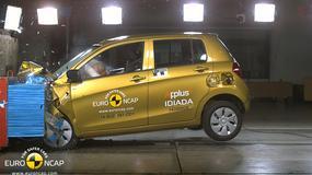 Nowe testy Euro NCAP - dwa modele rozczarowały