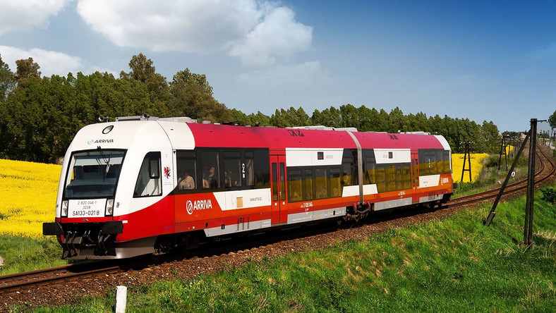 Pociąg Arriva