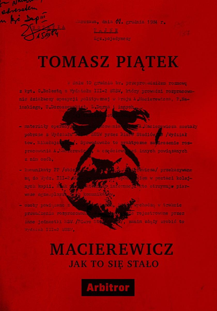 """Okładka książki """"Macierewicz. Jak to się stało"""""""
