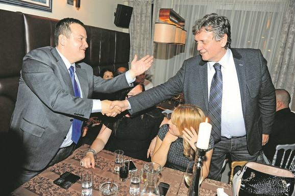 Prijatelji: Ivica Dačić i Radoš Bajić