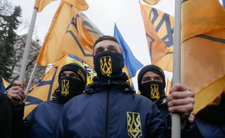 Ukraina: Ulicami Kijowa przeszedł doroczny marsz chwały UPA