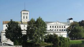 Abakany w Centralnym Muzeum Włókiennictwa w Łodzi