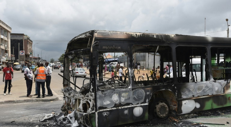 New violence as Ivorians protest president's third-term bid