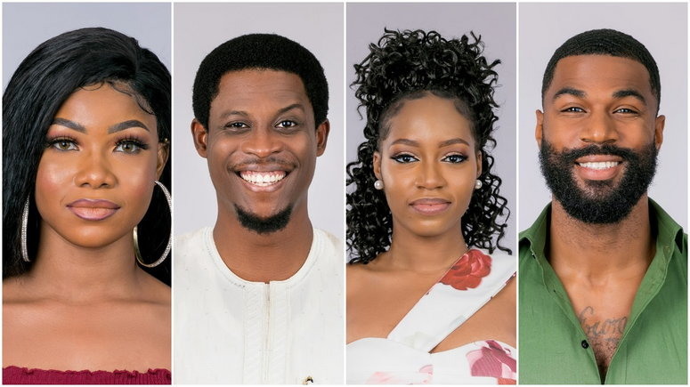 Tacha, Seyi, Khafi and Mike are up for possible eviction on Sunday, September 15, 2019. [Multichoice NG]