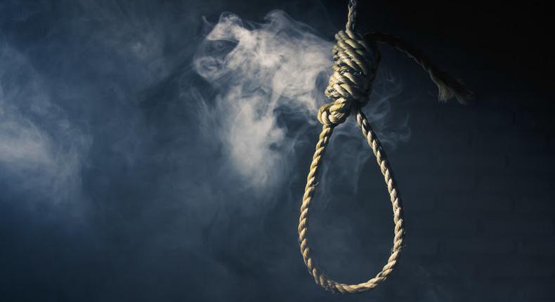 File image of a hangman's noose